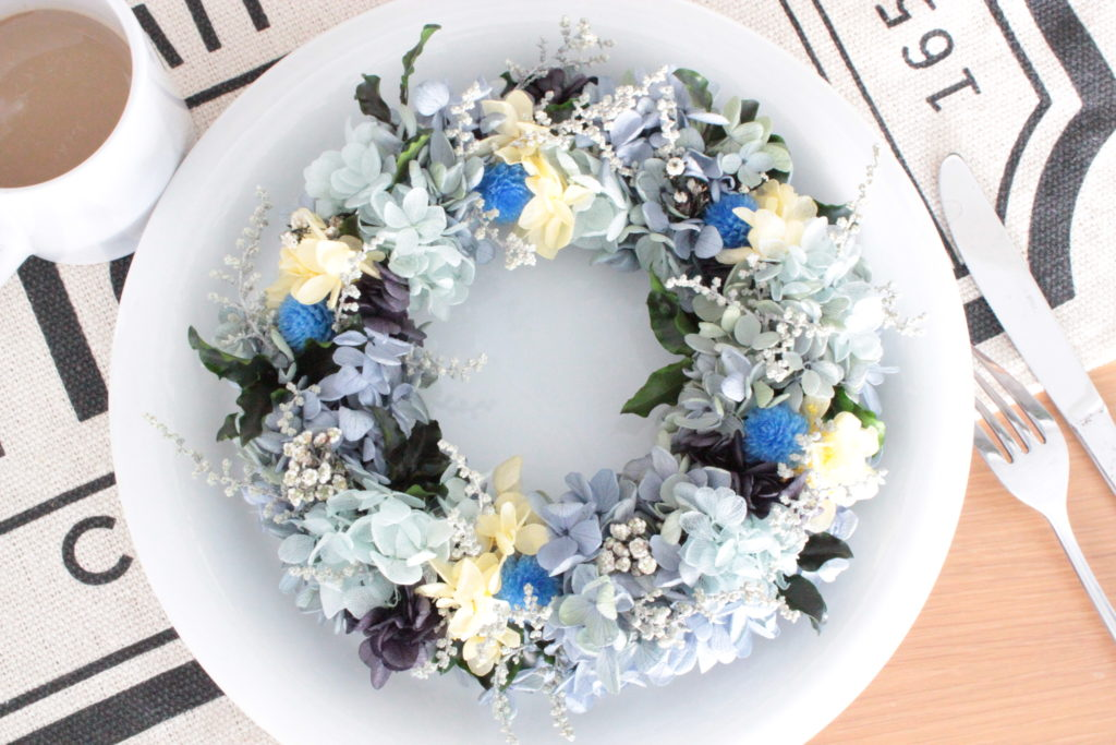 lavenderblue-wreath