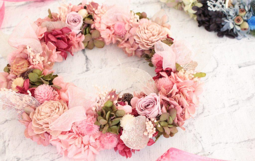 momoiro-wreath