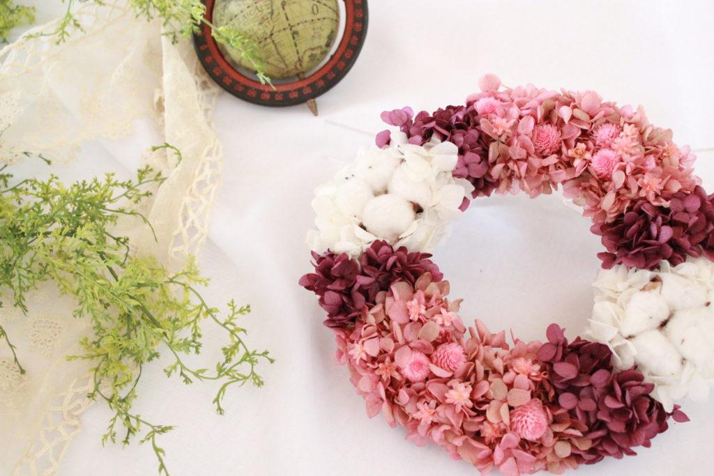 pink-purple-wreath
